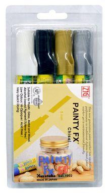 Zig Painty FX Chisel Tip- Outline Set (PPF50-4VWE)