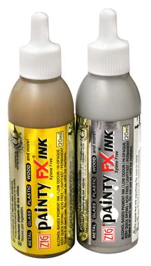Zig Painty FX Metallic Ink Set