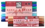 Zig Scroll & Brush Multicolor Sets