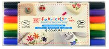 Zig Textile Fabricolor Twin Set of 6 - Basic