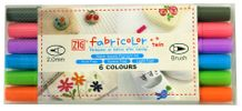 Zig Textile Fabricolor Twin Set of 6 - Pastel