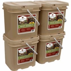 240 Servings Wise Meat Bucket