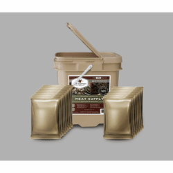 60 Servings Wise Meat Bucket