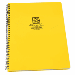 Rite In The Rain Side Spiral All-Weather Notebook 8.5X11