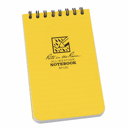 Rite In The Rain Top Spiral All-Weather Notebook 3X5