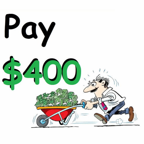 4 Payments + $10 service fee