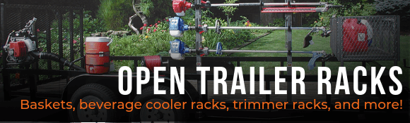 Open Trailer Racks