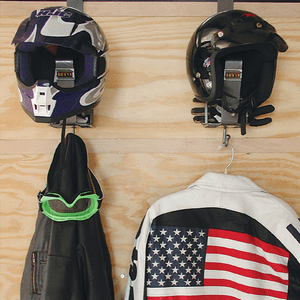 RA-22<br>Motorcycle Helmet Rack<br> <br> <br>