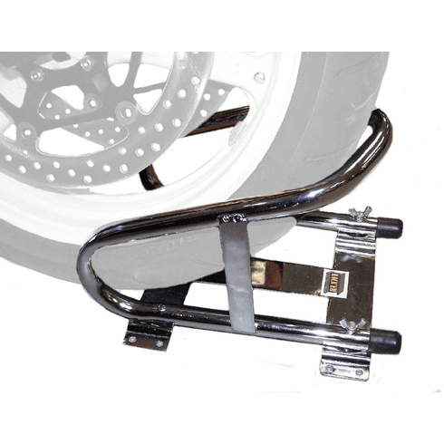 RA-17S<br>Stainless Steel <br>Motorcycle<br> Wheel Chock