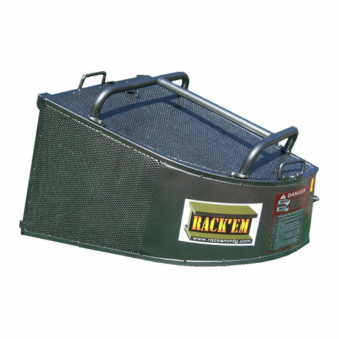 RC-OB4 <br>Steel Grass Catcher <br> Large Capacity 4.4 Cu Ft