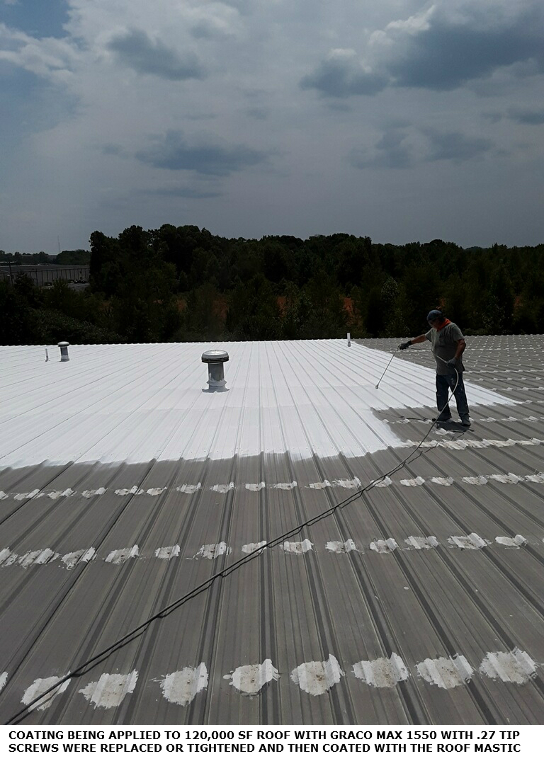 Metal Roof Coatings Amp Systems For Commercial Roofs