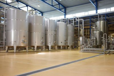 Commercial Kitchen & Food Processing Plant Epoxy
