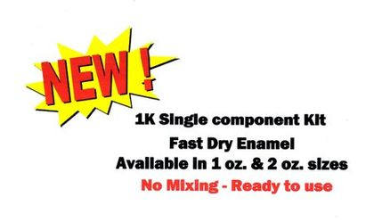 1K FAST DRY ENAMEL TOUCH-UP KITS