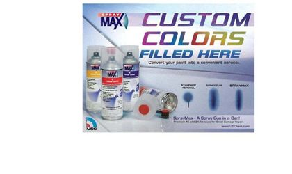 SPRAYMAX 2K CUSTOM COLOR AEROSOLS