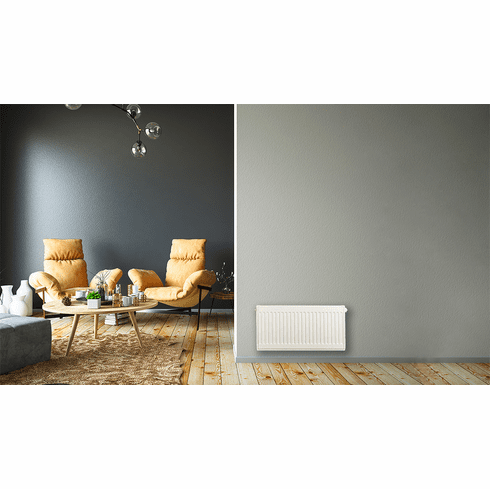 """12"""" X 24"""" Pensotti Double Steel Panel Radiator Package"""