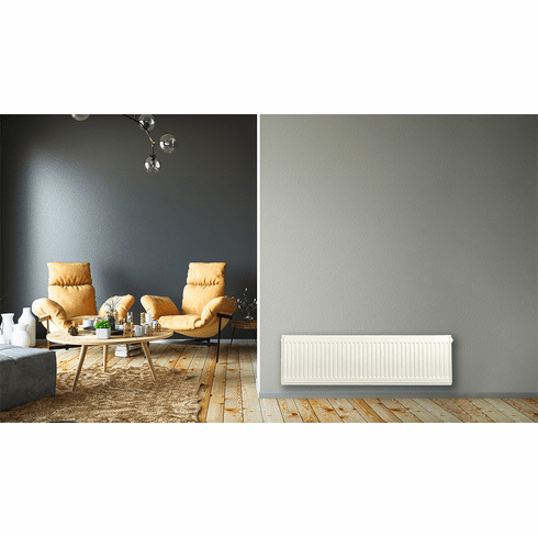 """12"""" X 40"""" Pensotti Double Steel Panel Radiator Package"""