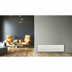 """12"""" X 48"""" Pensotti Double Steel Panel Radiator Package"""
