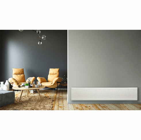 """12"""" X 64"""" Pensotti Double Steel Panel Radiator Package"""