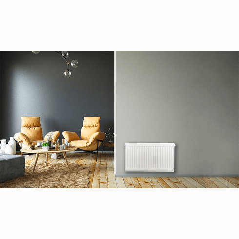 """16"""" x 28"""" Pensotti Double Steel Panel Radiator Package"""