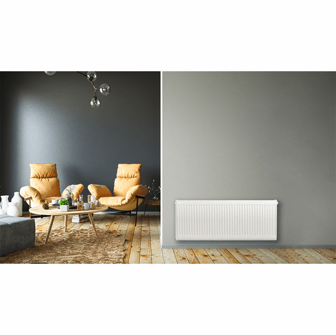 """16"""" x 36"""" Pensotti Double Steel Panel Radiator Package"""