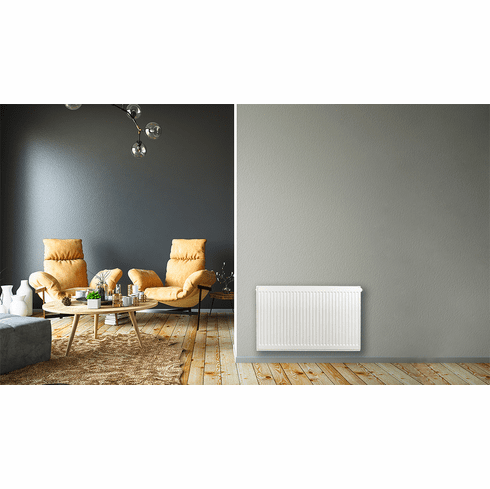 """20"""" X 32"""" Pensotti Double Steel Panel Radiator Package"""