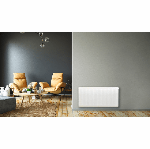 """20"""" X 40"""" Pensotti Double Steel Panel Radiator Package"""