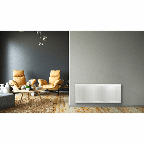 """20"""" X 44"""" Pensotti Double Steel Panel Radiator Package"""