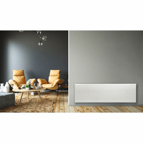 "20"" x 64"" Pensotti Double Steel Panel Radiator"