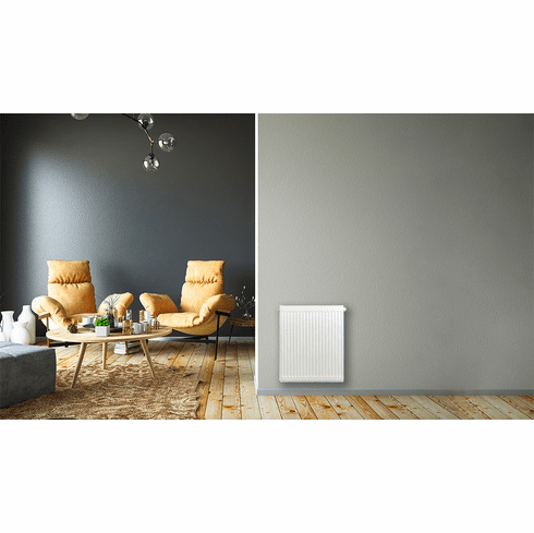 """24"""" X 20"""" Pensotti Double Steel Panel Radiator Package"""