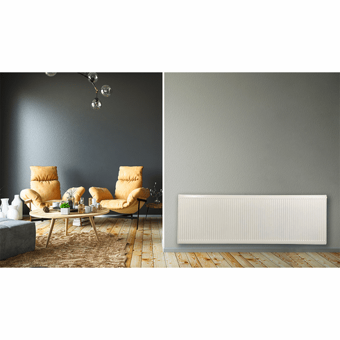"""24"""" X 72"""" Pensotti Double Steel Panel Radiator Package"""