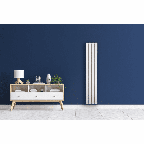 "4 Tube - 63"" x 12"" Pensotti Vertical Steel Panel Radiator"