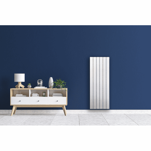 "6 Tube - 47"" x 17"" Pensotti Vertical Steel Panel Radiator"
