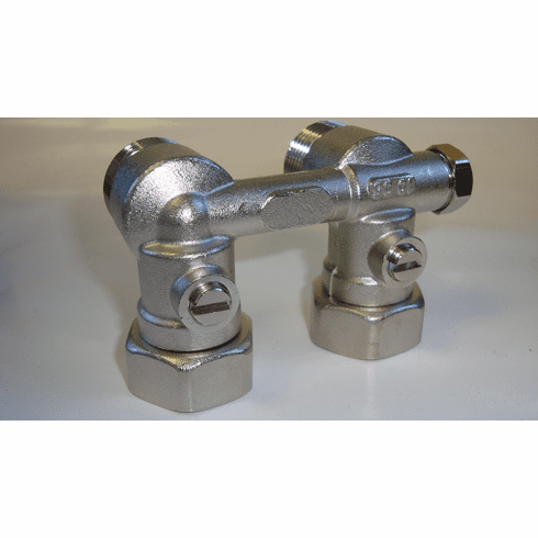 Angled Isolation Valve With By-Pass