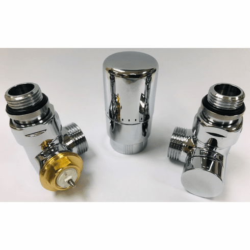 H51TLC - Angled TRV Left Valve Installation Kit