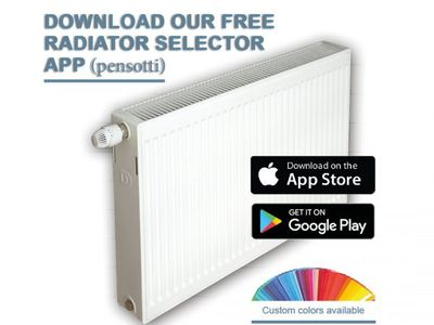 Pensotti DOUBLE Steel Panel Radiators Packages