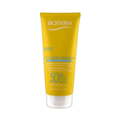 Biotherm Lait Solaire Hydratant SPF 50 for face and body Water Resistant