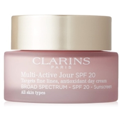 Clarins Multi-Active Jour SPF 20 Day Cream for all skin types 1.7 oz / 50 ml