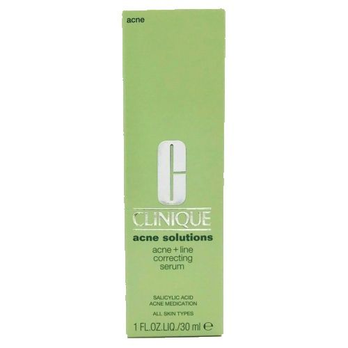 Clinique Acne Solutions Acne + Line Correcting Serum 1 oz / 30 ml