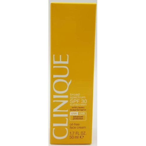 Clinique Broad Spectrum SPF 30 Sunscreen Oil-Free Face Cream 1.7oz / 50ml