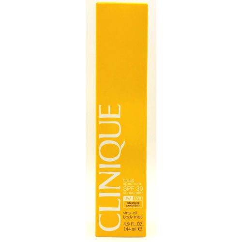 Clinique Broad Spectrum SPF 30 Sunscreen Virtu-Oil Body Mist 4.9 oz / 144 ml