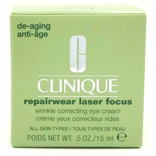 Clinique Repairwear Laser Focus Wrinkle Correcting Eye Cream 0.5 oz / 15 ml