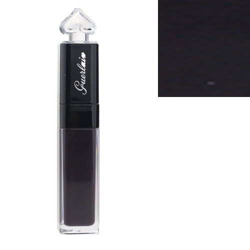 Guerlain La Petite Robe Noire Lip ColourInk Liquid Lipstick L107 Black Perfecto 0.2 oz / 6 ml