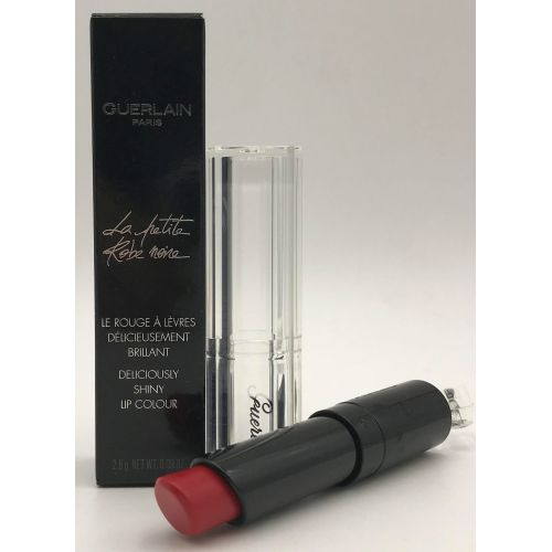 Guerlain LaPetite Robe Noire Deliciously Shiny Lip Colour 022 Red Bow Tie 0.09 oz