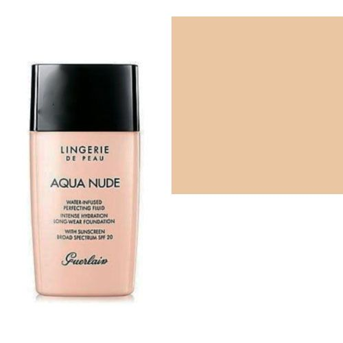 Guerlain Lingerie de Peau Aqua Nude Foundation SPF 20 02N Light 1 oz