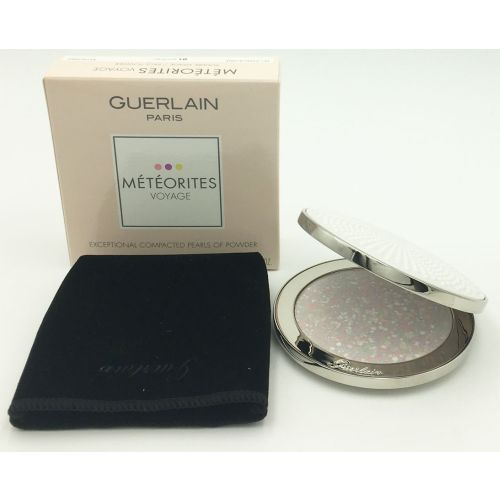 Guerlain Meteorites Voyage Exceptional Pressed Powder 01 Mythic Refillable