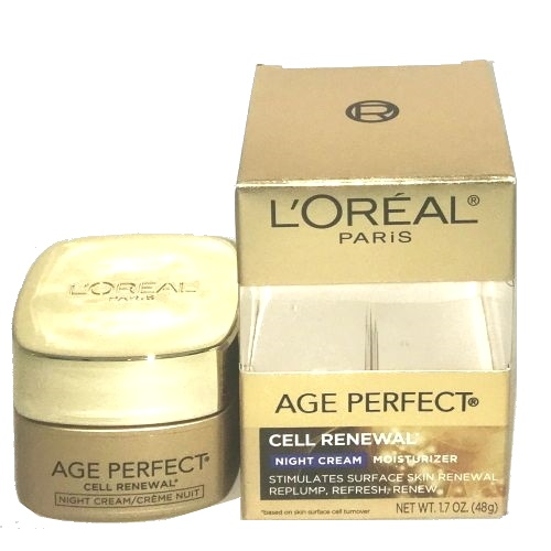 L'Oreal Age Perfect Cell Renewal Night Cream 1.7 oz / 48 g