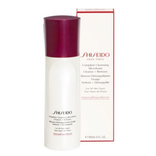 Shiseido Complete Cleansing Microfoam Cleanse + Remove 6oz / 180ml