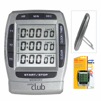 Digital Timer for 3 Clients