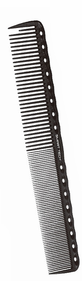 Smart Tech Carbon Cutting Comb w/ section