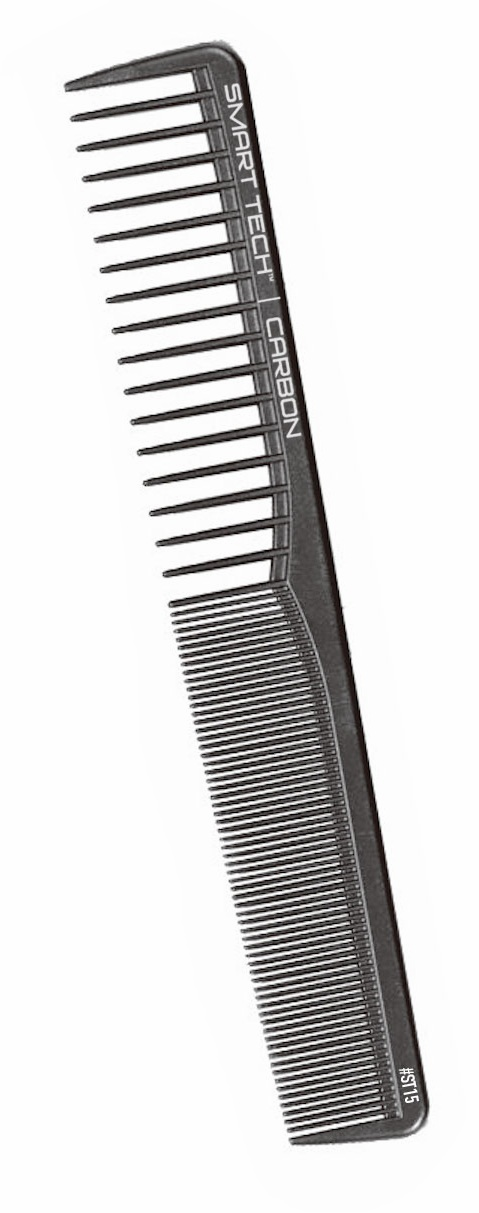 Smart Tech Carbon Wide Tooth Cutting Comb